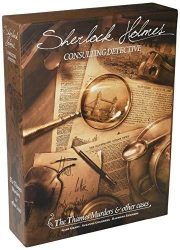 Space Cowboys SHEH03 Juego de mesa del detective privado Sherlock Holmes para resolver asesinatos, importacion ingles