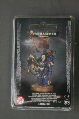 Space Marines Captain Master of the Relics by Games Workshop