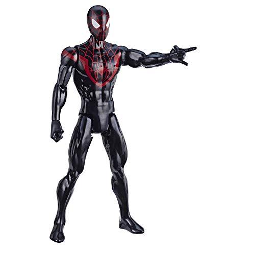 Spider-Man- Figura Titan Morales (Hasbro E85255X0)