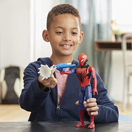 Spiderman Figura Titan Con Accesorios (Hasbro E73445L0)