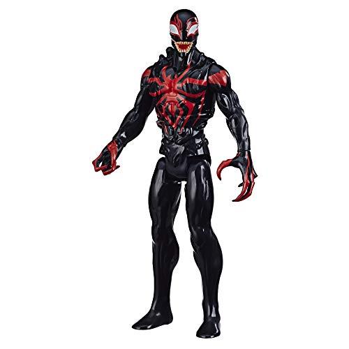Spiderman- Figura Titan Miles Morales Deluxe (Hasbro E87295X0)
