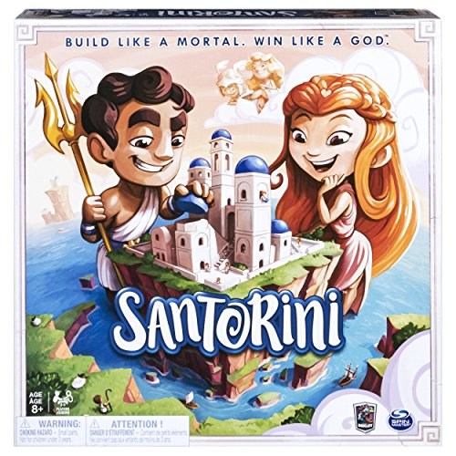 Spin Master Santorini Gordon Hamilton Board Game (6040699)