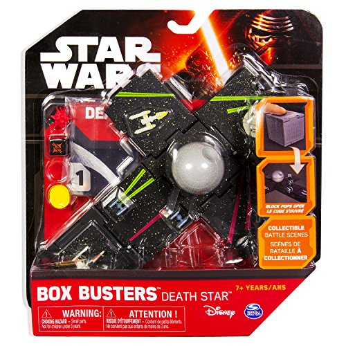 Spin Master Star Wars Box Busters Juego de Dados Death Star