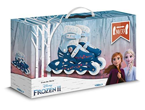 Stamp Sas-Adjustable IN-Line Frozen II Size 30-33, Color Blue, (RN244302)