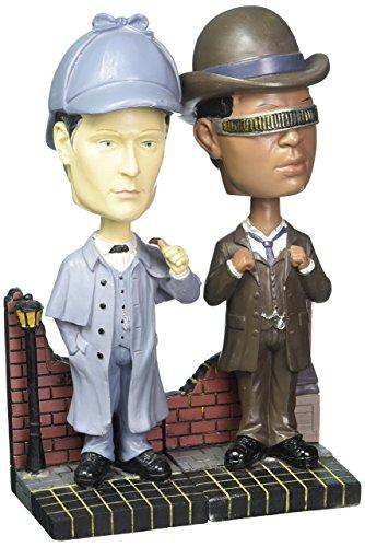 Star Trek: TNG Sherlock Holmes Bobble Heads-Set of 2 Excl.
