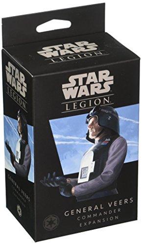 Star Wars FFGSWL10 Legion General Veers Comandante, Multicolor
