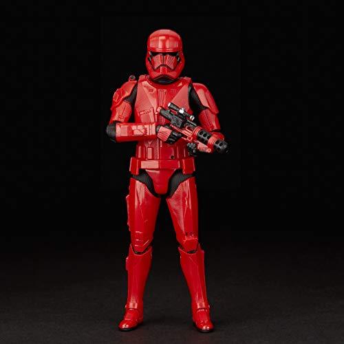 Star Wars - Figura de acción coleccionable de Soldado Sith de Black Series (Hasbro E4078EL2)