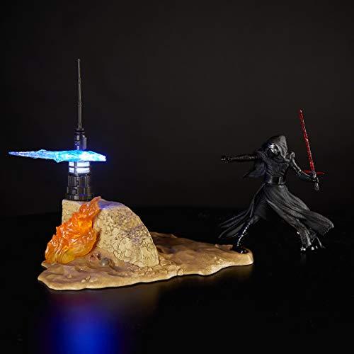 Star Wars - Figura Kylo Ren y Jakku de Black Series (Hasbro E0331EU4)