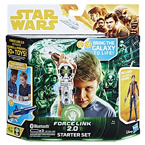 Star Wars Force Link 2.0 Starter Set Incluyendo Force Link Wearable Technology