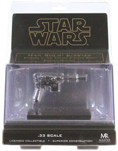 'Star Wars Han Solo Blaster Episode V The Empire Strikes Back Chrome Version