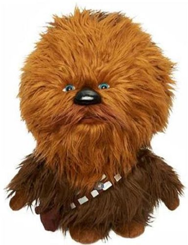 Star Wars - Peluche Chewbacca (Gear 4 Games E-MOVI-599F) [Importado de Inglaterra]