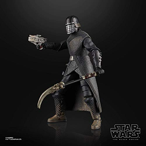 """Star Wars The Black Series Knight of Ren Toy 6"""" Escala The Rise of Skywalker Figura coleccionable, niños a partir de 4 años"""