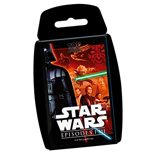 Star Wars Top Trumps EP I-III (81687), Multicolor, Ninguna (Eleven Force 1)
