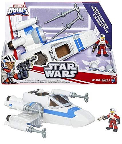 Star Wars - Vehículo con Figura Galactic Heroes (Hasbro)