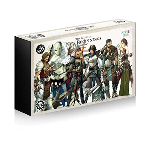 Steamforged Games Guild Ball - The Faithful: New Beginnings - English
