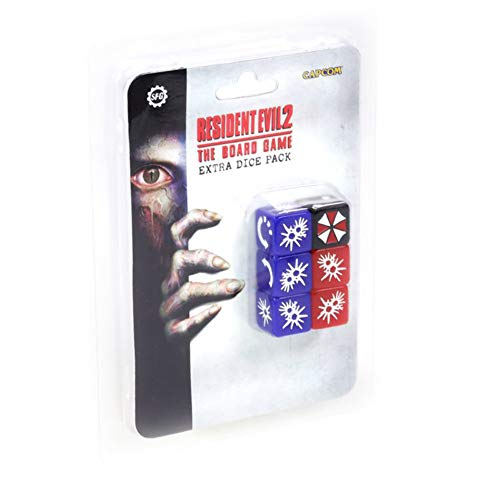 Steamforged Games Resident Evil 2 The Board Game Extra Dice Set Miniature Gaming