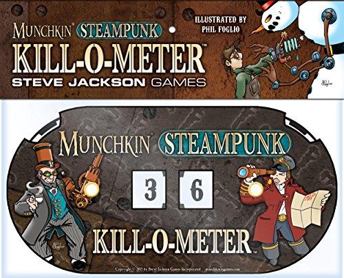 """Steve Jackson Games """"Munchkin Steampunk Kill-o-Meter Juego de Cartas"""