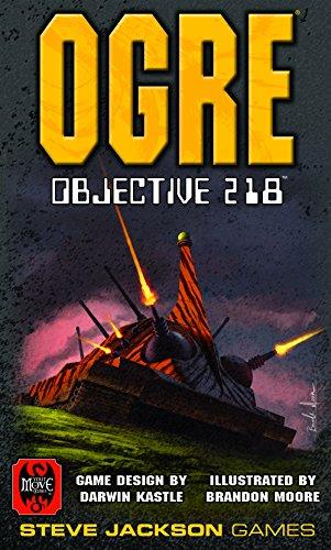 "Steve Jackson Games sjg07234–Juego de Cartas Ogre: Objective 218"""