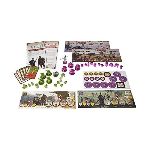 Stonemaier Games STM615 - Invasores de Tierras Lejanas, Expansion Scythe