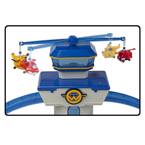 Super Wings - Aeropuerto Internacional Super Wings Jett & Donnie con luz & sonido (ColorBaby 43961)