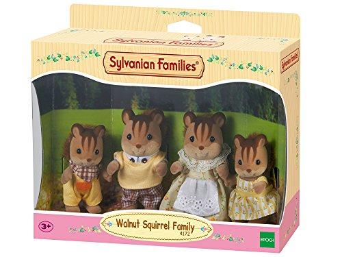 Sylvanian Families - 4172 - Familia Ardilla de la Nuez