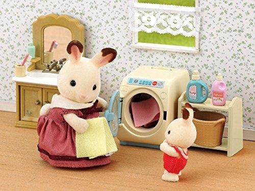Sylvanian Families- Washing Machine Set Mini muñecas y Accesorios, Multicolor (Epoch para Imaginar 3565)