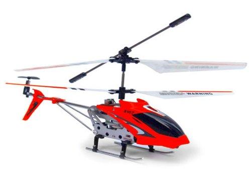 Syma-S107G Helicóptero con giroscopio, Color Rojo (5090)