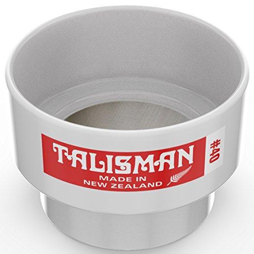 Talisman, Tamiz de Prueba, 40 Mallas, para pequenas cuantidades de Pintura y Laca, Utilizable en Laboratorios, 316 Mailla de Acero, Hecha de policarbonado