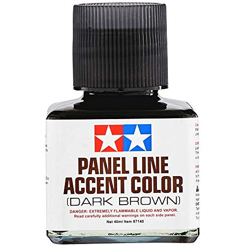 Tamiya Panel Line Accent Color Dark Brown (40ml)