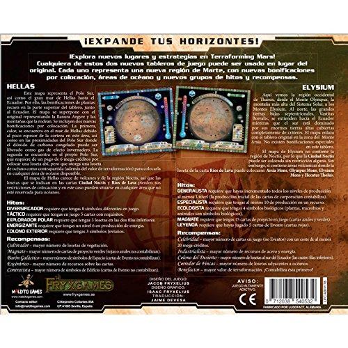 Terraforming Mars - Hellas & Elysium - Expansión