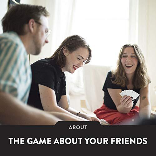 The Voting Game B01JXTOD7O Juego de Fiesta para Adultos sobre Tus Amigos (edición del Reino Unido), Nailon/A