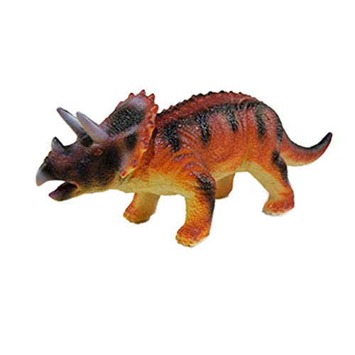 Theshy Kids Interactive Walking Dinosaur Glowing and Music Educational Toy para niños (28 x8x8.5cm, B)