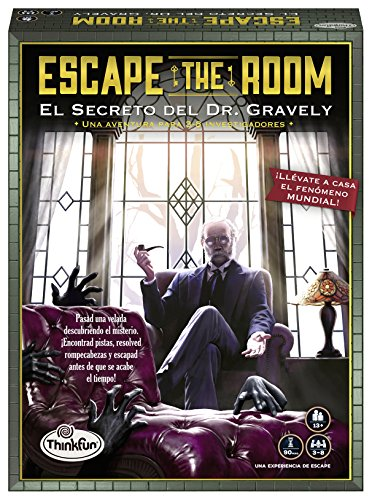Think Fun- Dr. Gravely Escape The Room (Ravensburger 76311)