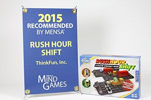 Think Fun Rushhour Shift 2-Player Stragety Game