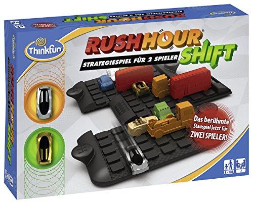 ThinkFun- Nein Rush Hour Shift-Juego de Mesa, Color marrón (Ravensburger Spieleverlag 76306)