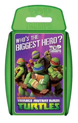 Top Trumps Teenage Mutant Ninja Turtles - Paquete de cromos