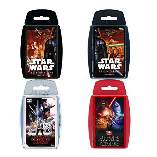 Top Trumps- Ultimate Star Wars Card Game Bundle Juego de Cartas (Winning Moves WM00157-EN1-6)