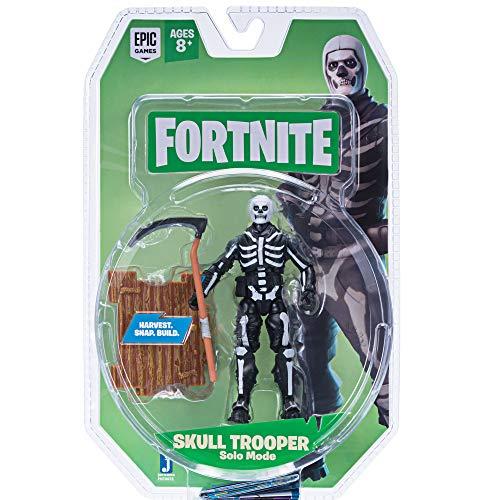 Toy Partner Figura FORTNITE Skull Trooper 10 CM. Serie 2 Incluye 1 Accesorio, EN Blister, Multicolor (FNT0073)