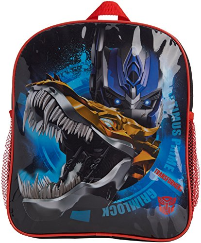 Transformers - Mochila Negro Negro