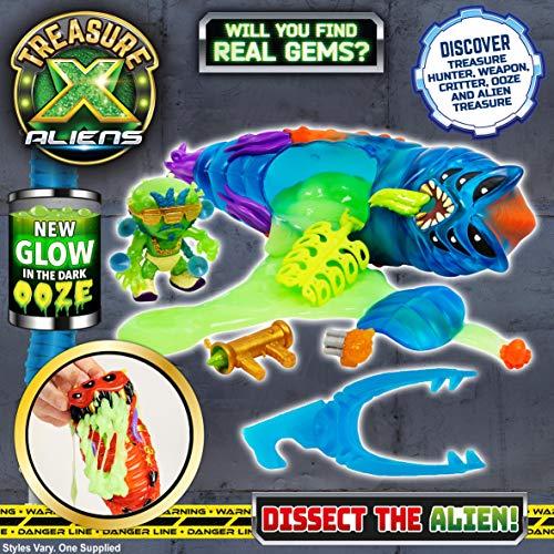 TREASURE X Pac Aliens Single Pack (Serie 2) -los Estilos varían, Color. (Moose LTD 41582)