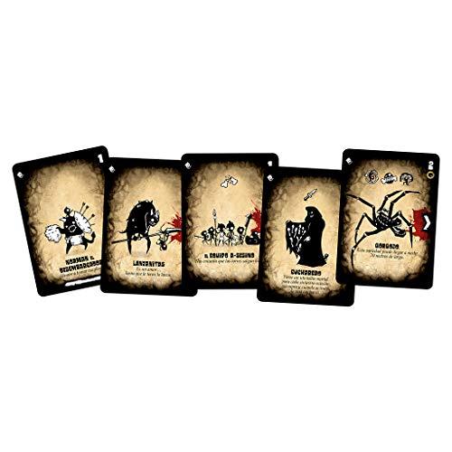 Tres Hurras por el Amo - Juego de cartas (Edge Entertainment EEAGTC01) , color/modelo surtido