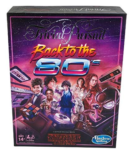 Trivial Pursuit Netflix's Stranger Things Back to The 80s Edition: Juego de Mesa para Adultos y Adolescentes