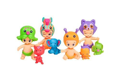 Twozies - Pack siempre uni-dos con 6 babies y 6 mascotas (Giochi Preziosi TW001000) , color/modelo surtido