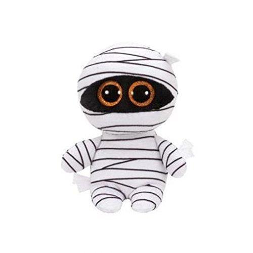 TY - Beanie Boos Halloween Mummy, Peluche Momia, 15 cm, color blanco (United Labels Ibérica 37234TY)