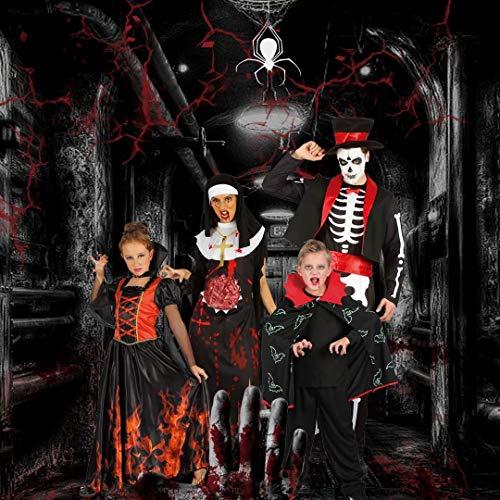 U LOOK UGLY TODAY Disfraz de Halloween para niños, Traje Festivo para Fiesta de Carnaval, Vestido de Chico Hecho de Dia do Los Santos con Tela Suave y Tranpirable, Disfraces para Noche de Brujas