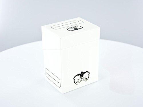 Ultimate Guard 10250 Êltimo Guardia - Guardia último Caso Cuadro Cubierta Blancas 80 Tarjetas de tamaño estándar