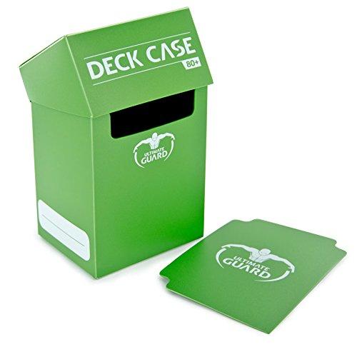 Ultimate Guard 10253 Deck Box, Color Verde Claro, 7,6 x 8,9 x 11,4 cm