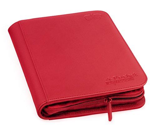Ultimate Guard 4-Pocket ZipFolio XenoSkin Rojo