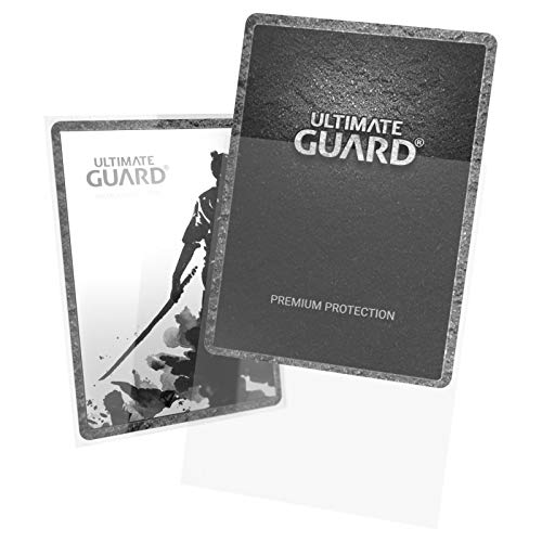 Ultimate Guard- Fundas para Tarjetas, Color Transparente (UGD010090HEO)