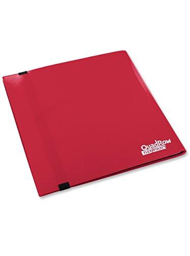 Ultimate Guard UGD10348 - Carpeta con 12 Fundas para Juego de Cartas, Color Rojo